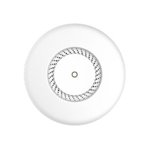 MikroTik cAP ac with 716MHz CPU, 128MB RAM, 2 x Gbit LAN (one with PoE-out), built-in 2.4Ghz 802.11b/g/n Dual Chain wireless, built-in 5GHz 802.11an/ac Dual Chain wireless, RouterOS L4, ceiling enclos